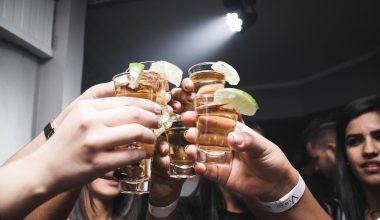 round of tequila shots