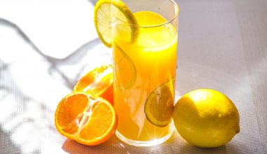 vitamin c orange juice