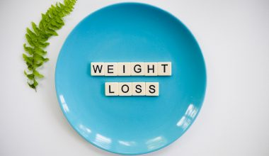weight loss on plate
