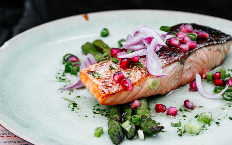 salmon vitamin D food